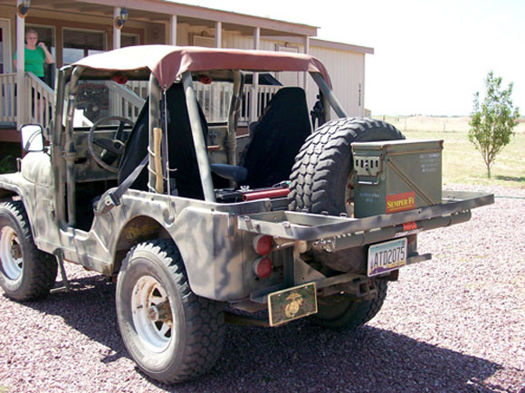 William Brooks' 1958 Willys CJ-5