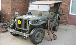Anthony Adkins' 1942 Willys MB