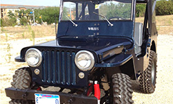 Jess Christensen - Willys CJ-2A