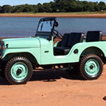 Jose Gilberto Alves Braga Jr. - 1959 Willys CJ-5