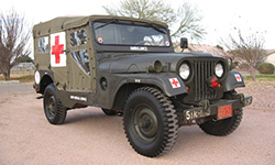 Jun Tolentino - 1954 Willys M170 Frontline Ambulance
