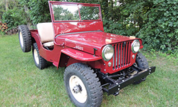 Rob and Beth Theriot - 1947 Willys CJ-2A