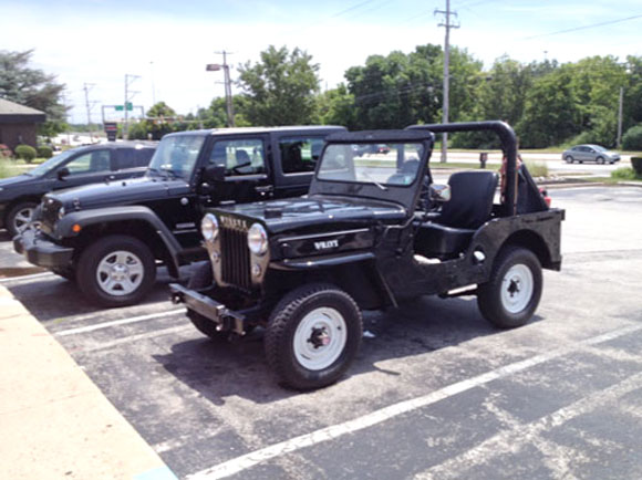 Peirce Eichelberger's 1956 Willys CJ-3B