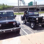 A Modern Jeep and Vintage Willys CJ-3B – 56 Years Apart