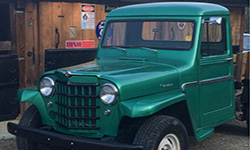 Shannon Arrowood - 1962 Willys Truck
