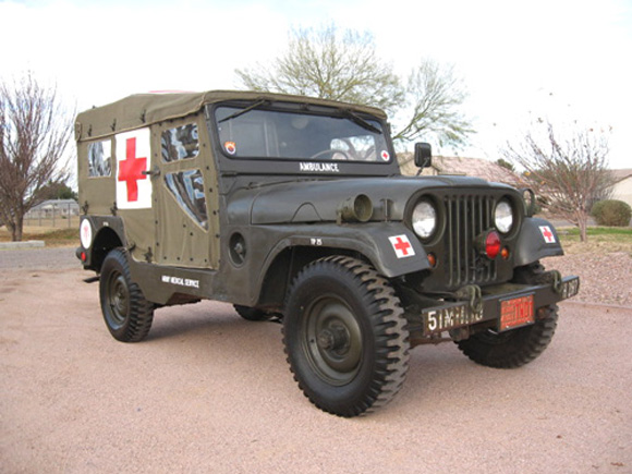 Jun Tolentino's 1954 Willys M170 Frontline Ambulance