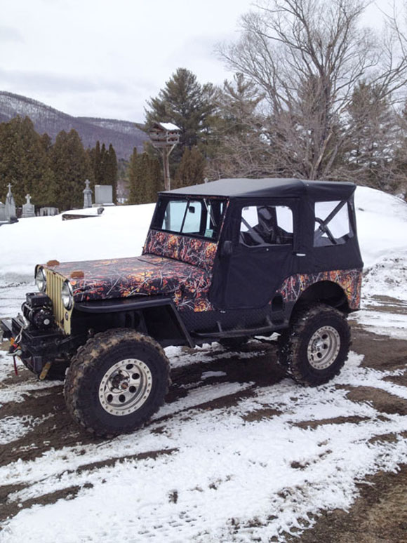 Jim Englert's 1946 Willys CJ-2A