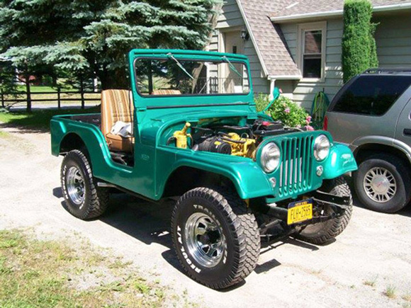 Patrick O'Connor's 1956 Willys CJ-5