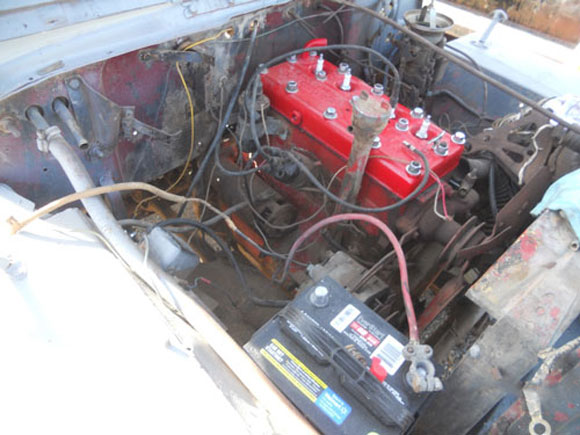 Alfredo Maldonado's Willys CJ-2A