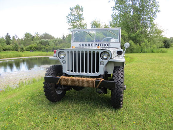 James Cooper's 1946 Willys Jeep