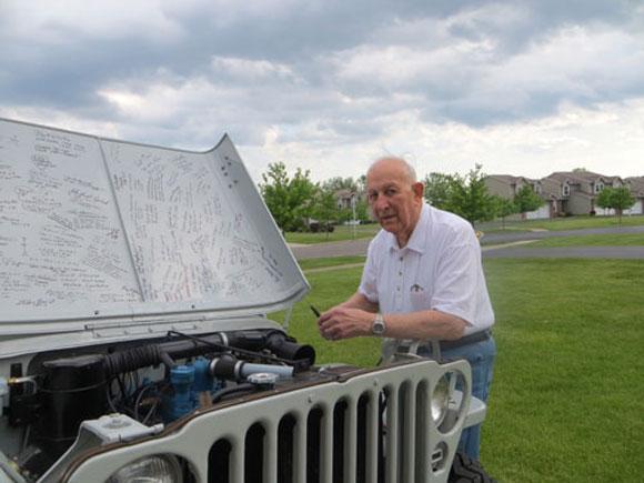 James Cooper's 1946 Willys Jeep