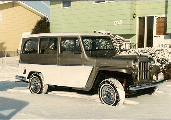 Chuck Gardner's 1962 Willys Station Wagon