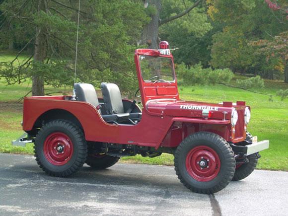 Ed Marple's 1952 Willys CJ-2A