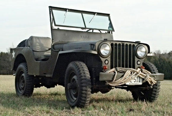 Joey Drennon's 1946 Willys CJ-2A