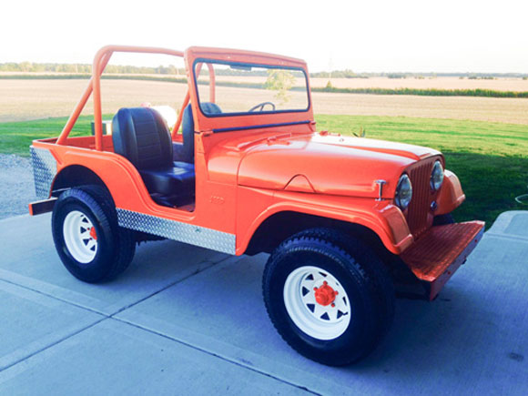 Tom McClamroch's 1960 Willys CJ-5