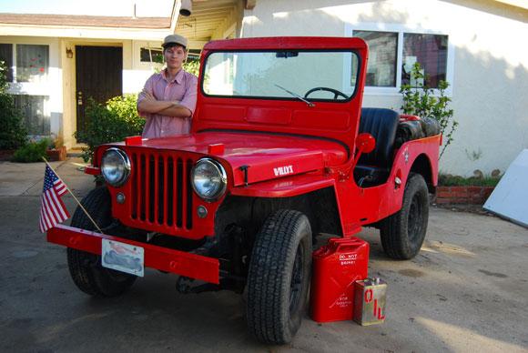 Brian Liesberg's 1950 Willys CJ-3A