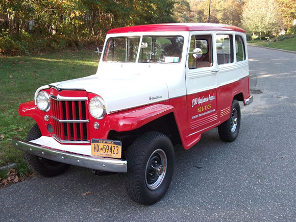 Charlie Valvo's 1960 Willys Station Wagon