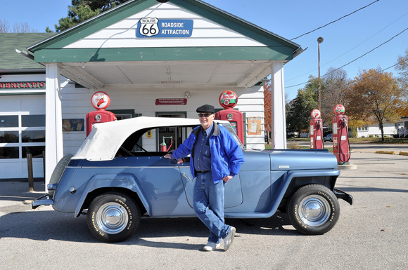 Wendy and Roger Goeckner's 1949 Willys Jeepster