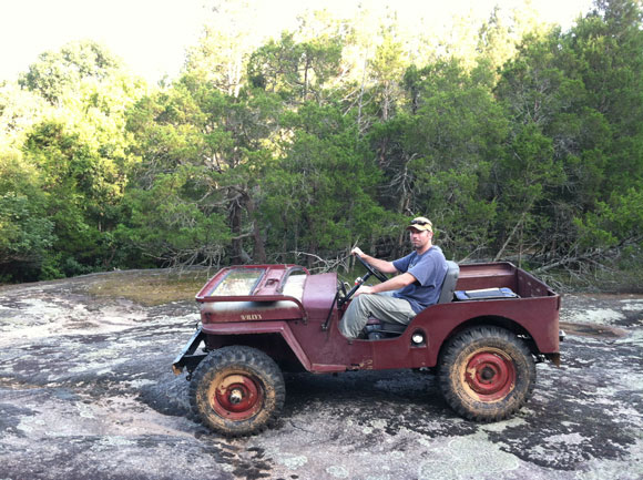 John Mrzygod's 1949 Willys CJ-3A