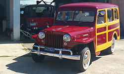 Tito Bombe's Willys Station Wagon
