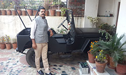 Abhishek Mishra's 1949 Willys CJ-3A