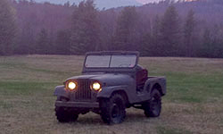 Patrick Carty's 1953 Willys M38A1