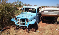 Peter Gardiner's 1957 Willys Truck
