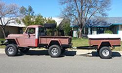 Vance Hackney's 1959 Willys Truck
