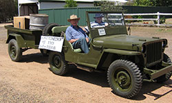 Vaughn Becker's 1942 Willys MB