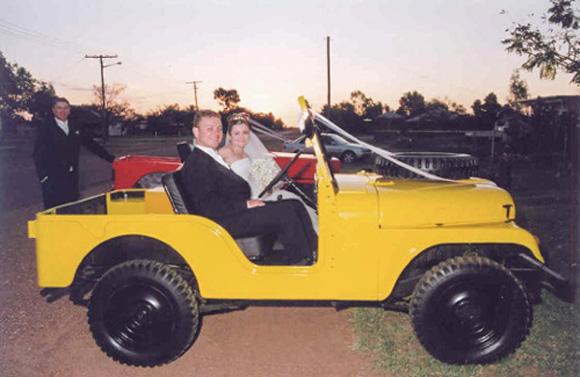 Erin Tanner's 1962 Willys CJ-5