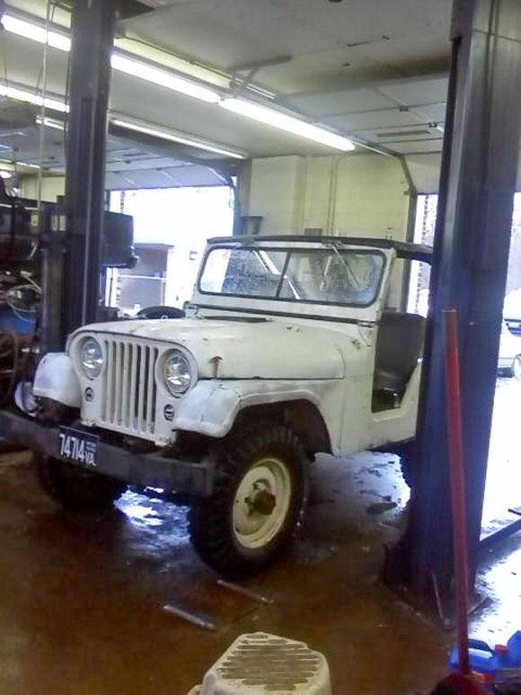 Ed Paris' 1952 Willys M38A1