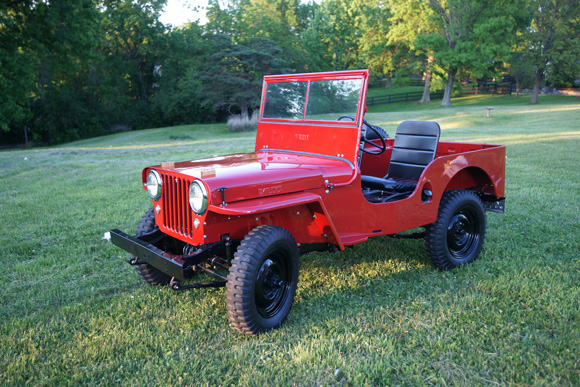 Chris Schutte's 1947 Willys CJ-2A