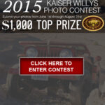 Enter Now for the 2015 Kaiser Willys Photo Contest!