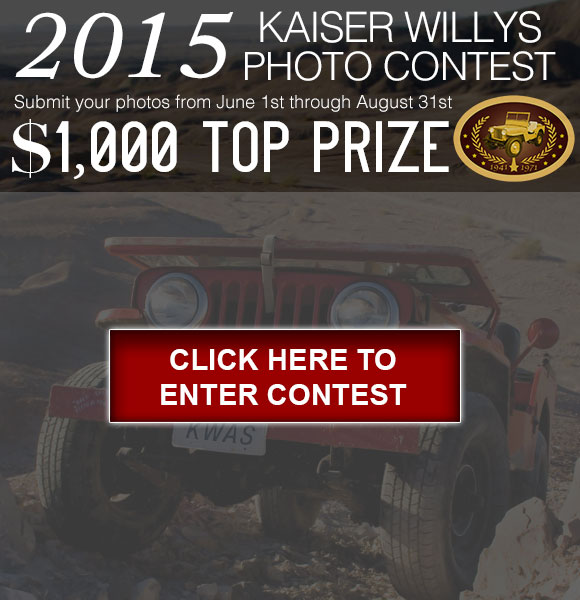 2015 Kaiser Willys Photo Contest
