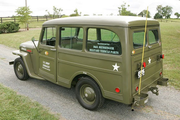 Lanny Moore's 1946 Willys Station Wagon