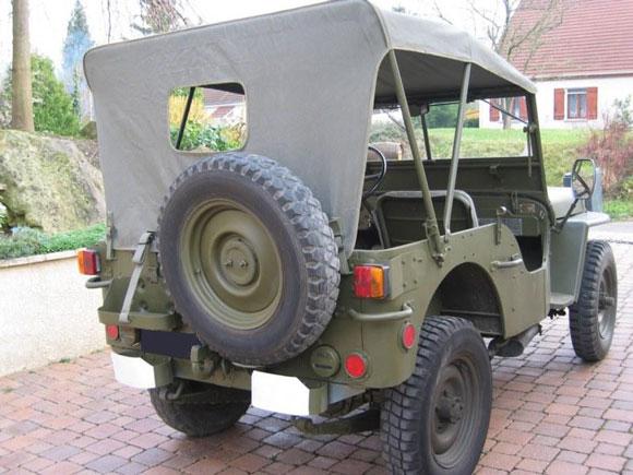 Pierre Tassin's 1959 Willys Hotchkiss M201