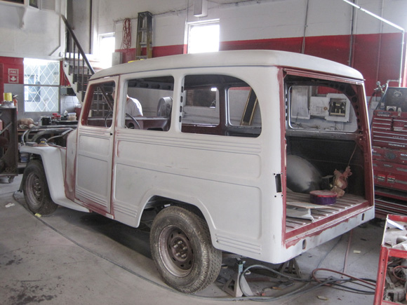 Dominic Bellestri's 1953 Willys Deluxe Wagon