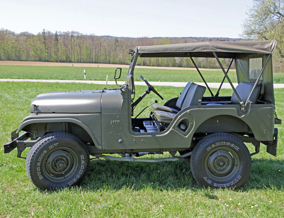 Roland Mayer's 1969 CJ-5 Jeep