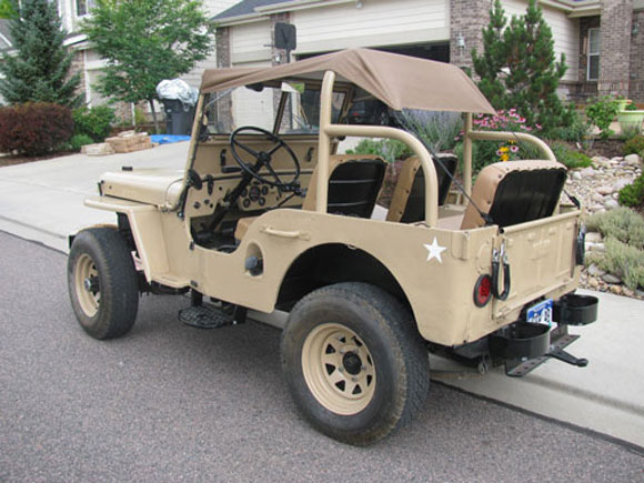 Antony Hunt's 1948 Willys CJ-2A