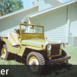 Reunited with my Willys CJ-2A After 34 Years