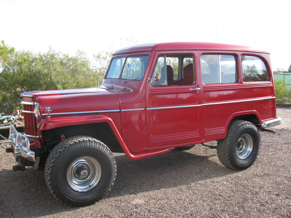 Leonard Hobson's 1952 Willys Station Wagon