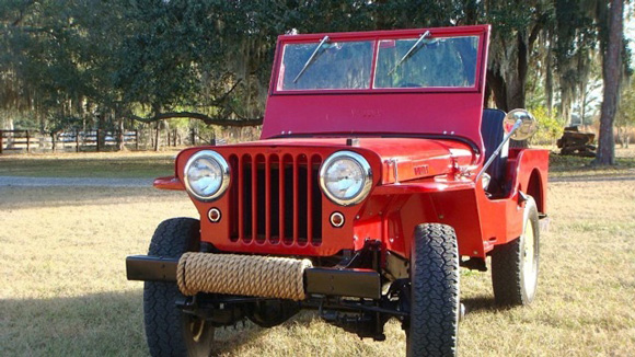 Jason Tkach's 1946 Willys CJ-2A
