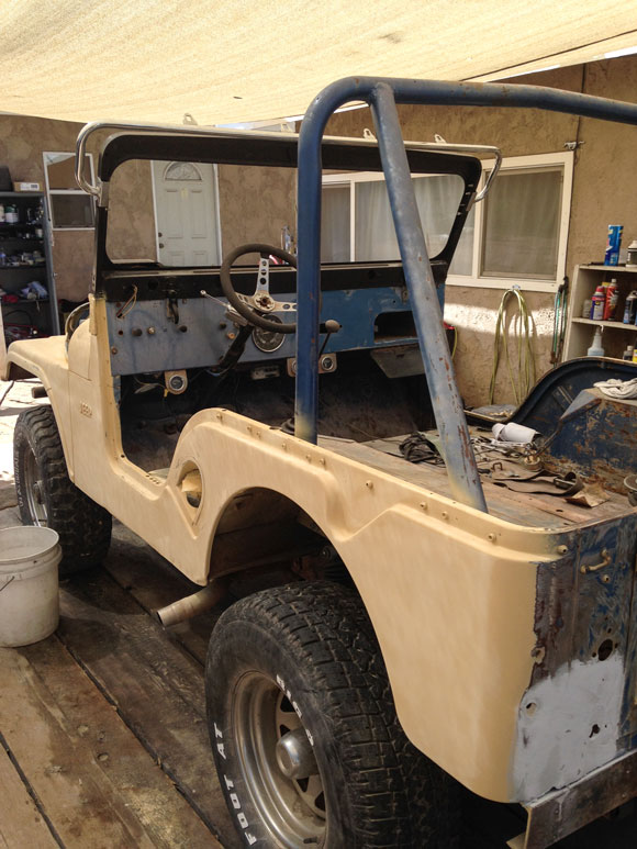 Tony Hernandez' 1969 CJ-5 Jeep