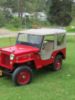 Ovidio Patiño Montoya 1953 Willys CJ-3B