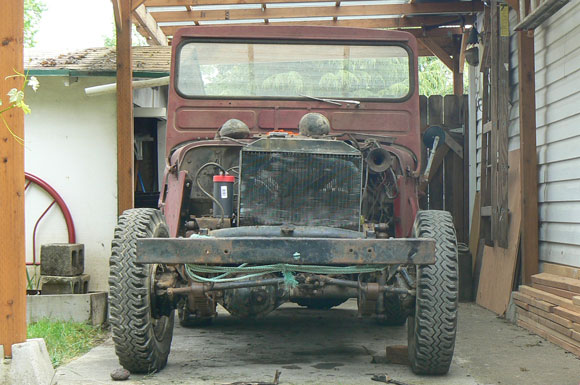 Dave Clark's 1945 Willys MB