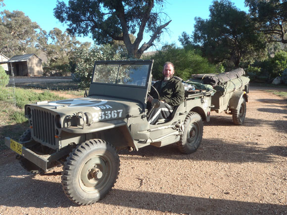 Gary Moore's 1942 Willys MB