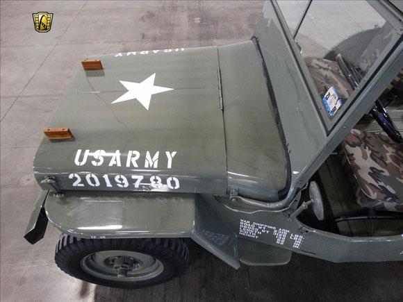 Ricky Shaw's 1948 CJ-2A Military Clone