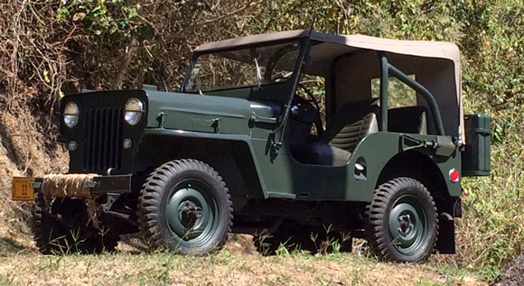 Julio Segura's 1954 Willys CJ-3B