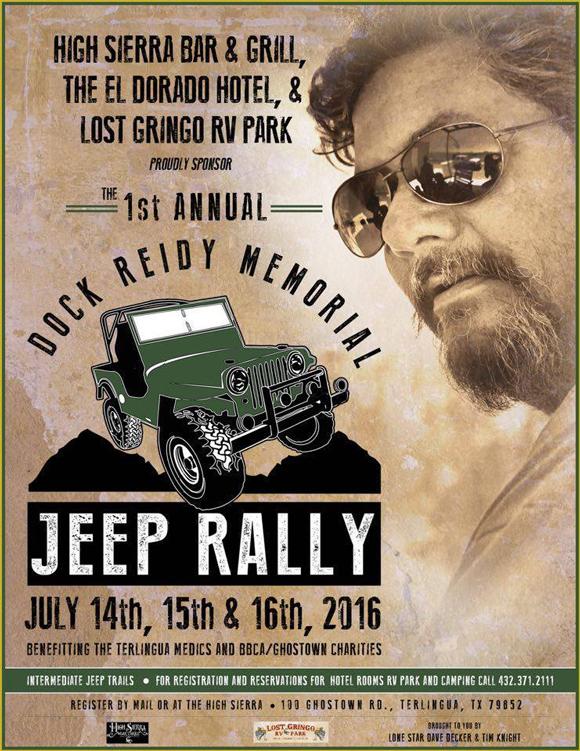 Dock Reid Memorial Jeep Rally - Terlingua, Texas