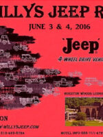 8th Annual - The Willys Jeep Rally